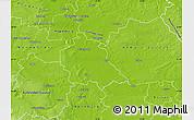 Physical Map of Schönebeck
