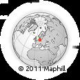Outline Map of Stendal
