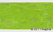 Physical Panoramic Map of Stendal