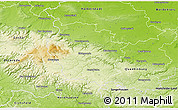 Physical 3D Map of Wernigerode