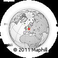 Outline Map of Sachsen-Anhalt