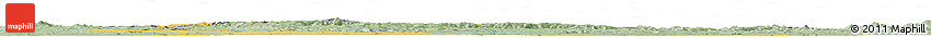 Savanna Style Horizon Map of Sachsen