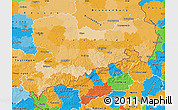 Political Map of Sachsen