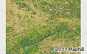 Satellite Map of Sachsen