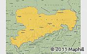 Savanna Style Map of Sachsen