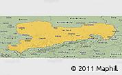 Savanna Style Panoramic Map of Sachsen