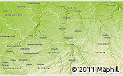 Physical 3D Map of Mittweida
