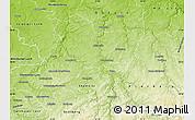 Physical Map of Mittweida