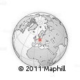 Outline Map of Mittweida
