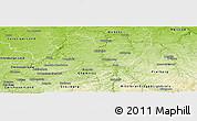 Physical Panoramic Map of Mittweida