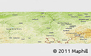 Physical Panoramic Map of Plauen