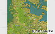 Satellite Map of Schleswig-Holstein