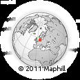 Outline Map of Dithmarschen