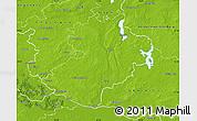 Physical Map of Herzogtum Lauenburg