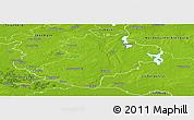 Physical Panoramic Map of Herzogtum Lauenburg