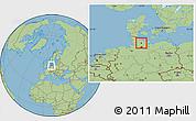 Savanna Style Location Map of Neumünster