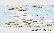 Classic Style Panoramic Map of Schleswig-Holstein