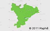 Political Map of Schleswig-Flensburg, cropped outside