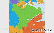 Political Map of Schleswig-Flensburg