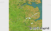 Satellite Map of Schleswig-Flensburg