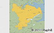 Savanna Style Map of Schleswig-Flensburg