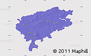 Political Map of Segeberg, cropped outside