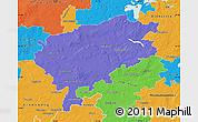 Political Map of Segeberg
