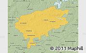 Savanna Style Map of Segeberg