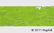 Physical Panoramic Map of Segeberg