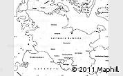 Blank Simple Map of Schleswig-Holstein