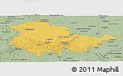 Savanna Style Panoramic Map of Thüringen
