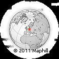 Outline Map of Hildburghausen
