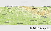 Physical Panoramic Map of Hildburghausen