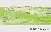 Physical Panoramic Map of Nordhausen
