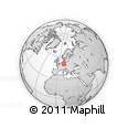 Outline Map of Unstrut-Hainich-Kreis