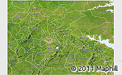 Satellite 3D Map of Ashanti