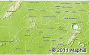 Physical 3D Map of Adaagya