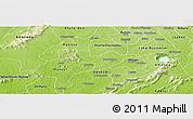 Physical Panoramic Map of Adaagya