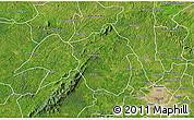 Satellite 3D Map of Ahafo-Ano