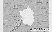 Gray Map of Ahafo-Ano