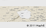 Classic Style Panoramic Map of Ahafo-Ano