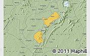 Savanna Style Map of Akrokerri Dompoase