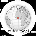 Outline Map of Akrokerri Dompoase