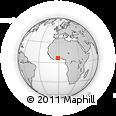 Outline Map of Ejisu