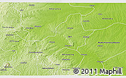 Physical 3D Map of Ejura-Sekodumasi