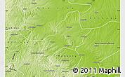 Physical Map of Ejura-Sekodumasi