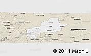 Classic Style Panoramic Map of Ejura-Sekodumasi