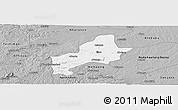 Gray Panoramic Map of Ejura-Sekodumasi