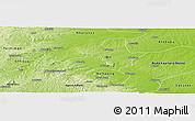 Physical Panoramic Map of Ejura-Sekodumasi