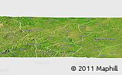 Satellite Panoramic Map of Ejura-Sekodumasi